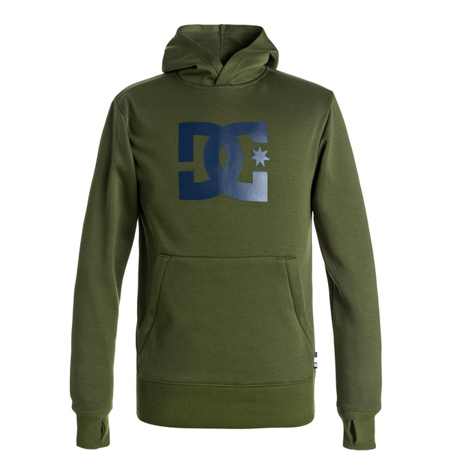0 Boy's 8-16 Snowstar Technical Riding Hoodie  EDBFT03108 DC Shoes