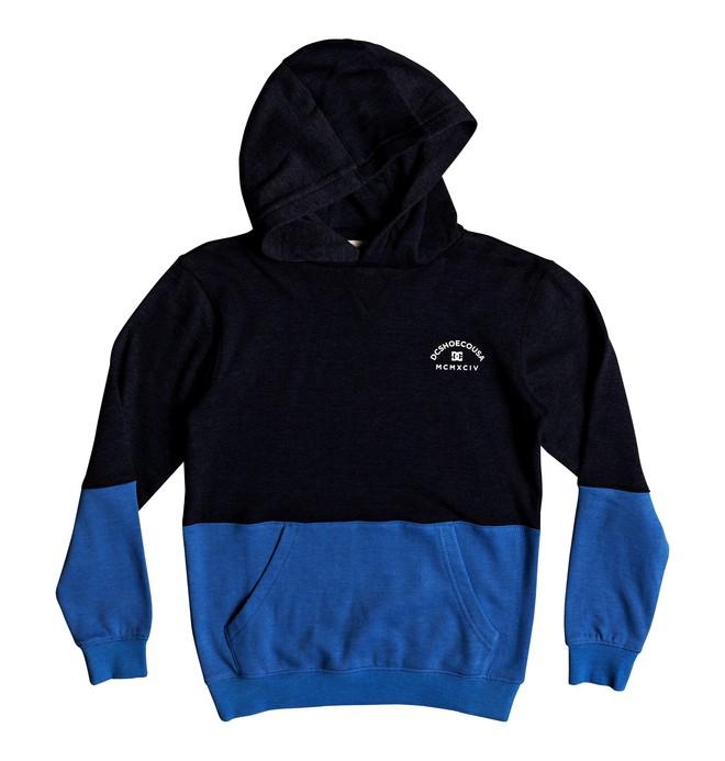 0 Rebel Block - Hoodie for Boys 8-16 Blue EDBFT03125 DC Shoes