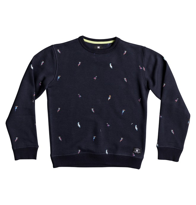 0 Boy's 8-16 2Can Sweatshirt  EDBFT03129 DC Shoes