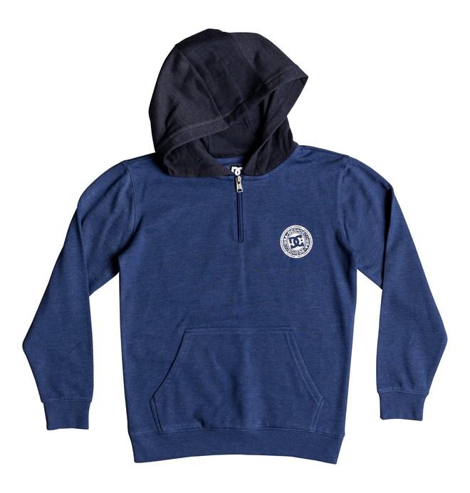 0 Rebel - Sweat zippé à capuche pour Garçon 8-16 ans Bleu EDBFT03136 DC Shoes