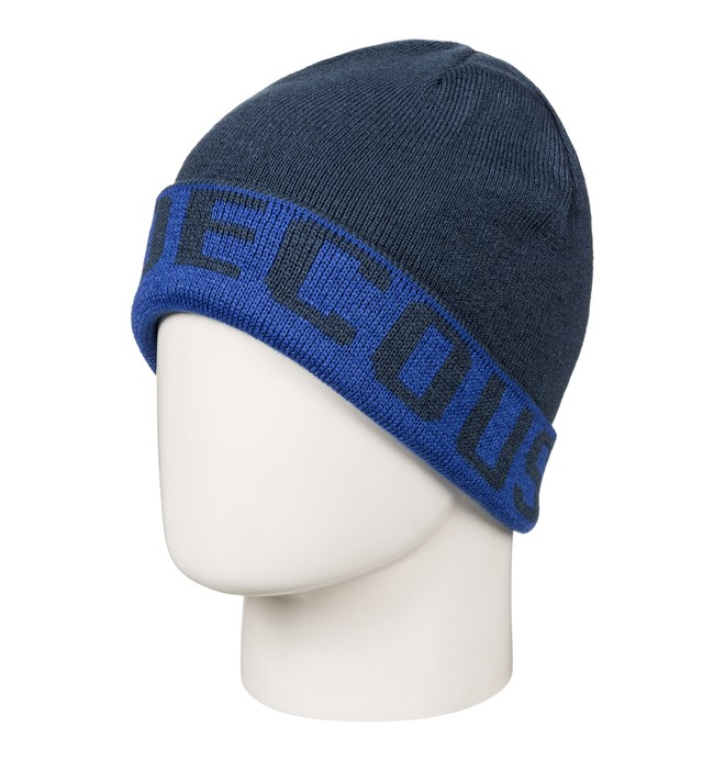 0 Boy's 8-16 Bromont Reversible Cuff Beanie  EDBHA03014 DC Shoes