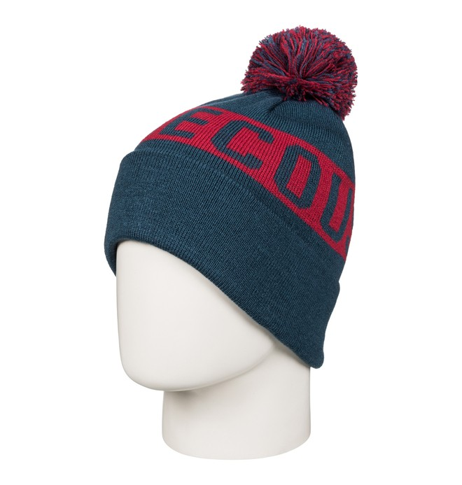 0 Boy's 8-16 Chester Bobble Hat  EDBHA03015 DC Shoes