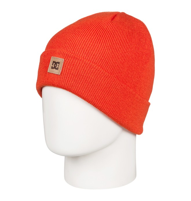 0 Boy's 8-16 Label Beanie Orange EDBHA03022 DC Shoes