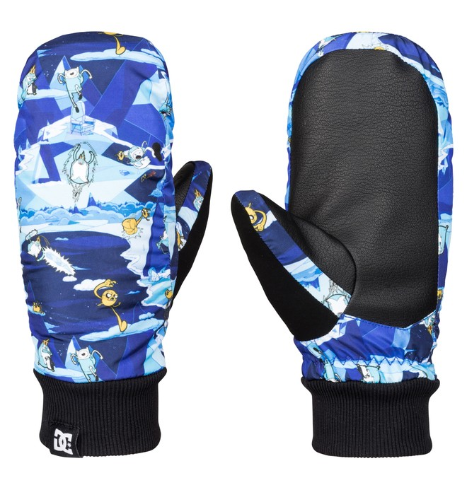 0 Boy's 8-16 Flag Snow Mittens  EDBHN03004 DC Shoes