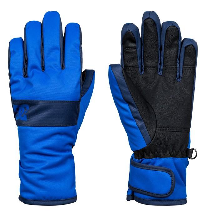 0 Boy's 8-16 Franchise Snow Gloves  EDBHN03005 DC Shoes