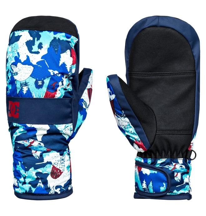 0 Franchise - Moufles de snowboard/ski pour Garçon 8-16 ans  EDBHN03006 DC Shoes