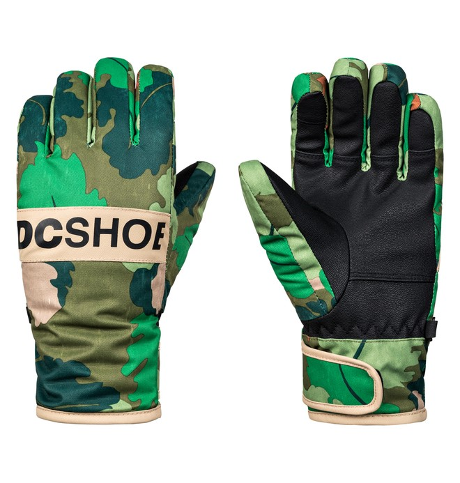 0 Boy's 8-16 Franchise Ski/Snowboard Gloves  EDBHN03008 DC Shoes