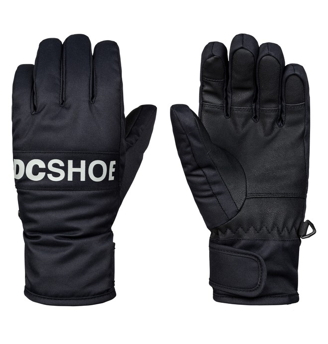 0 Boy's 8-16 Franchise Snowboard/Ski Gloves Black EDBHN03008 DC Shoes