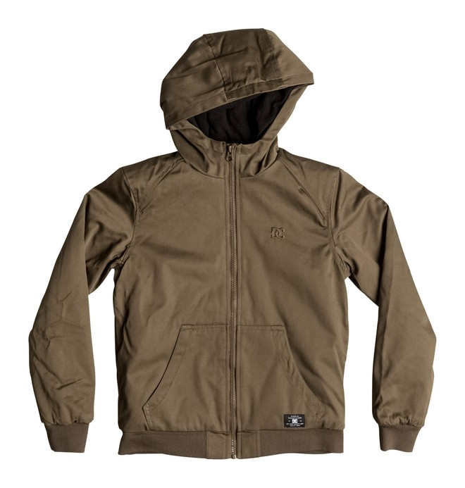 0 Ellis - Jacket Beige EDBJK03014 DC Shoes