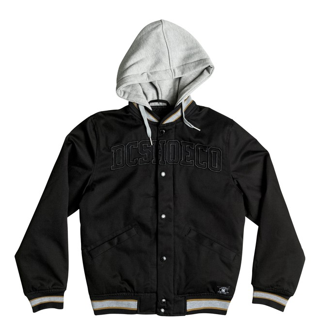 0 Boy's 8-16 Colwood Varsity Jacket  EDBJK03016 DC Shoes