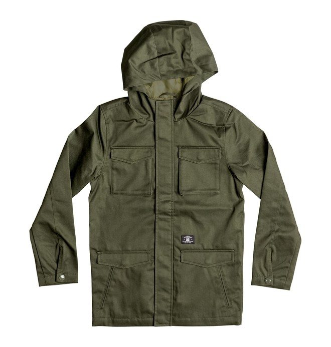 0 Boy's 8-16 Mastadon M65 Jacket  EDBJK03017 DC Shoes