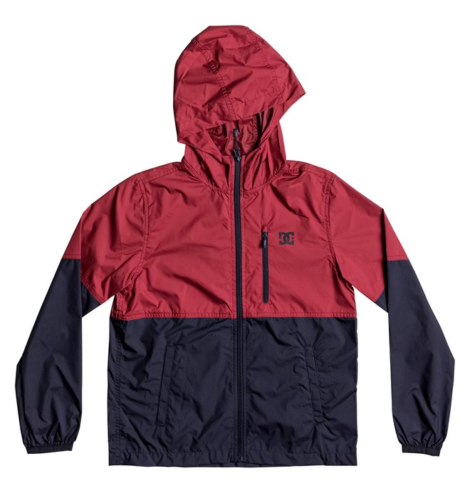 0 Kid's Dagup Block Windbreaker Jacket  EDBJK03021 DC Shoes