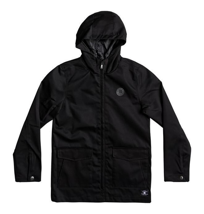 0 Kid's Exford Hooded Water Resistant Jacket  EDBJK03024 DC Shoes