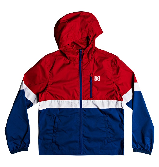 0 Boy's 8-16 Dagup Triple Block Windbreaker  EDBJK03027 DC Shoes