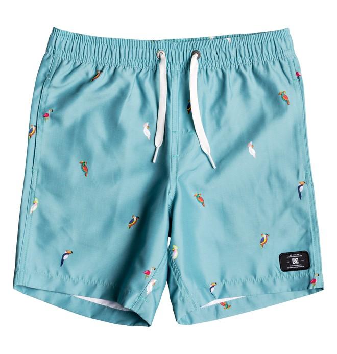 "0 All Season 14.5"" - Beach Shorts for Boys 8-16 Blue EDBJV03012 DC Shoes"