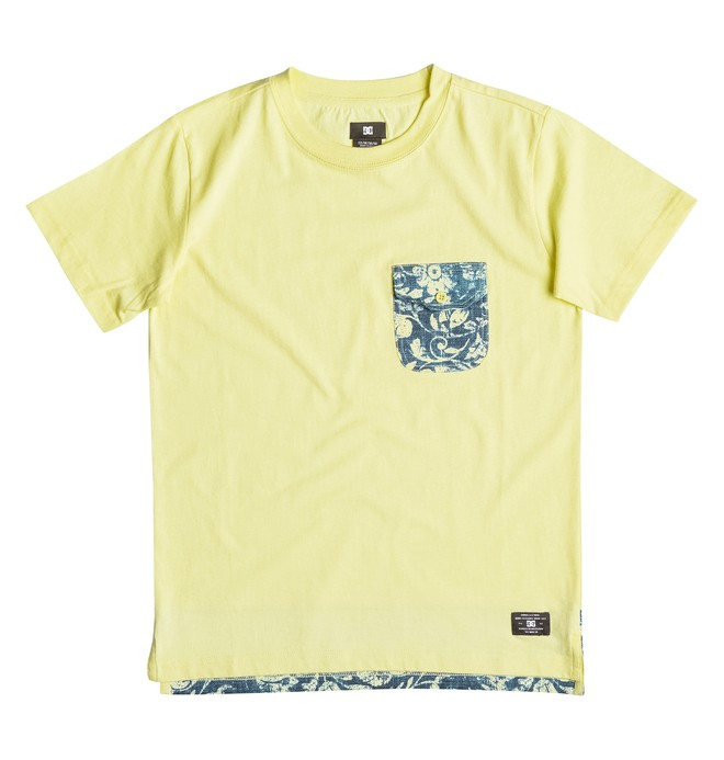 0 Owensboro - Pocket T-Shirt Yellow EDBKT03072 DC Shoes