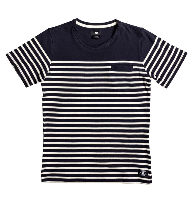 0 Kid's Silver Palm Tee  EDBKT03085 DC Shoes