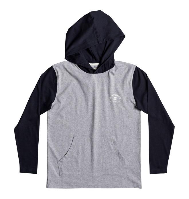 0 Boy's 8-16 Rellin Hooded Long Sleeve Tee  EDBKT03093 DC Shoes