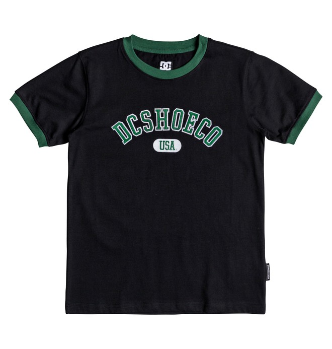 0 Glenridge - Camiseta para Chicos 8-16 Negro EDBKT03098 DC Shoes