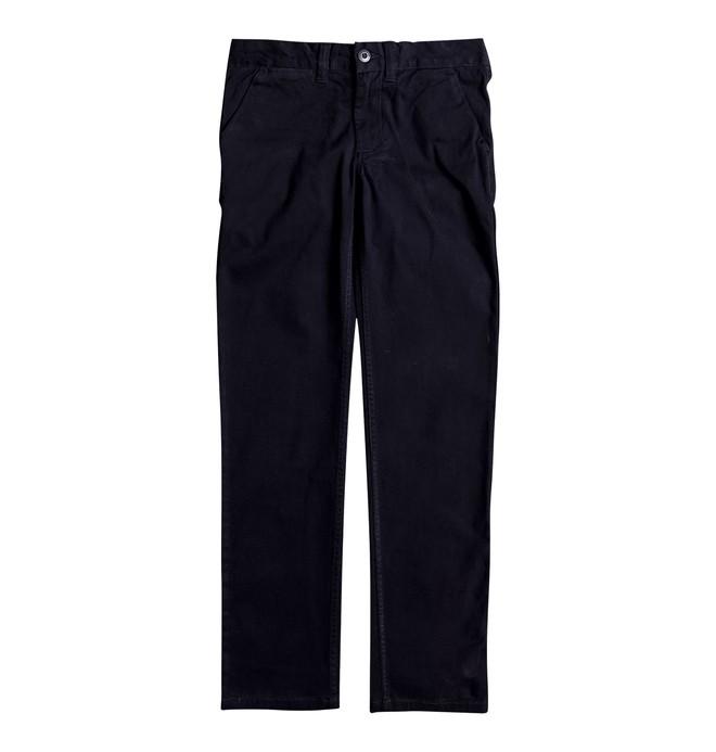 0 Worker Slim - Pantalon chino Bleu EDBNP03005 DC Shoes