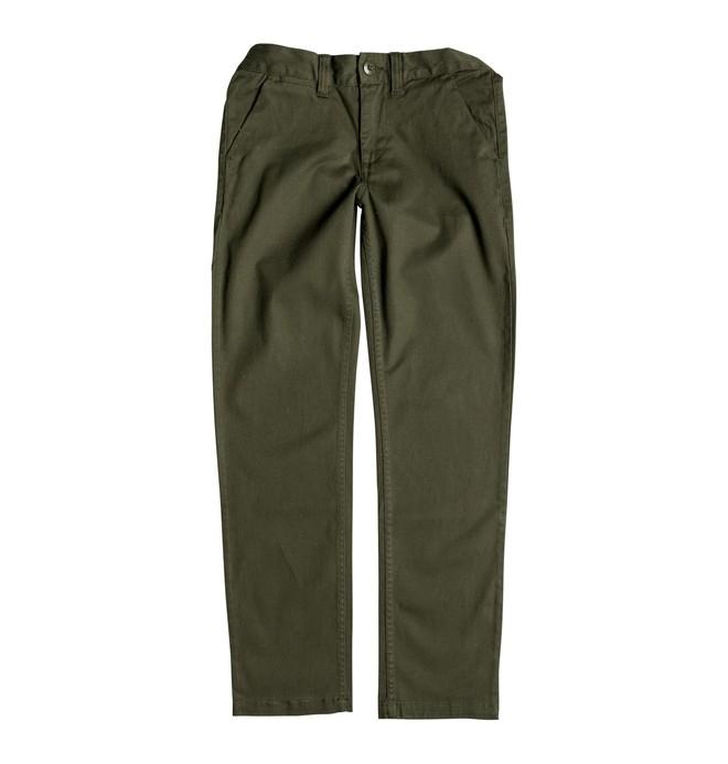 0 Niños 8-16 Pantalones Worker Straight Fit  EDBNP03006 DC Shoes