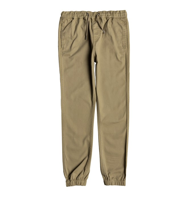 0 Blamedale - Chino Joggers for Boys 8-16 Brown EDBNP03017 DC Shoes