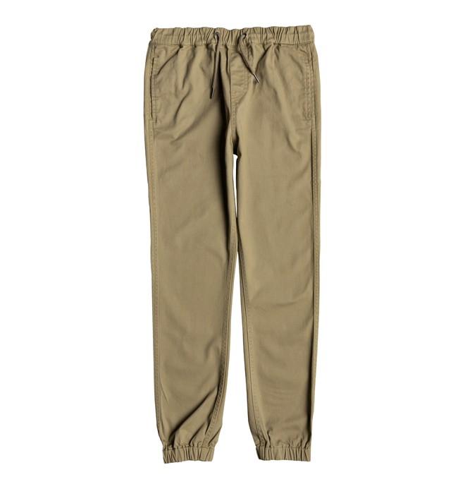 0 Blamedale - Pantalon en sergé pour Garçon 8-16 ans Marron EDBNP03017 DC Shoes