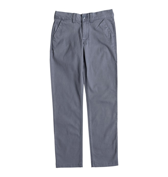 0 Boy's 8-16 Worker Chinos Blue EDBNP03019 DC Shoes