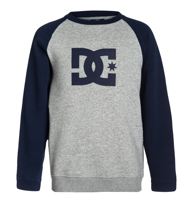 0 Star Crew Raglan By  EDBSF03011 DC Shoes