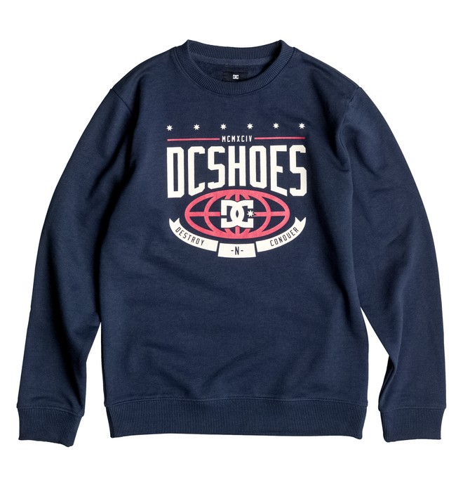 0 The Creed Crew - Sweatshirt  EDBSF03052 DC Shoes