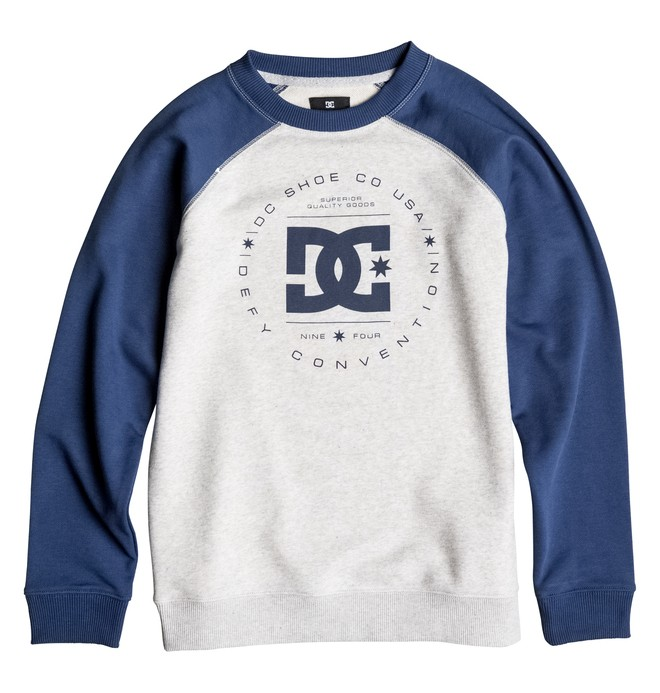 0 Boy's 8-16 Rebuilt Sweatshirt  EDBSF03057 DC Shoes