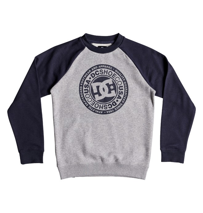 0 Circle Star - Sweatshirt for Boys 8-16 Blue EDBSF03092 DC Shoes