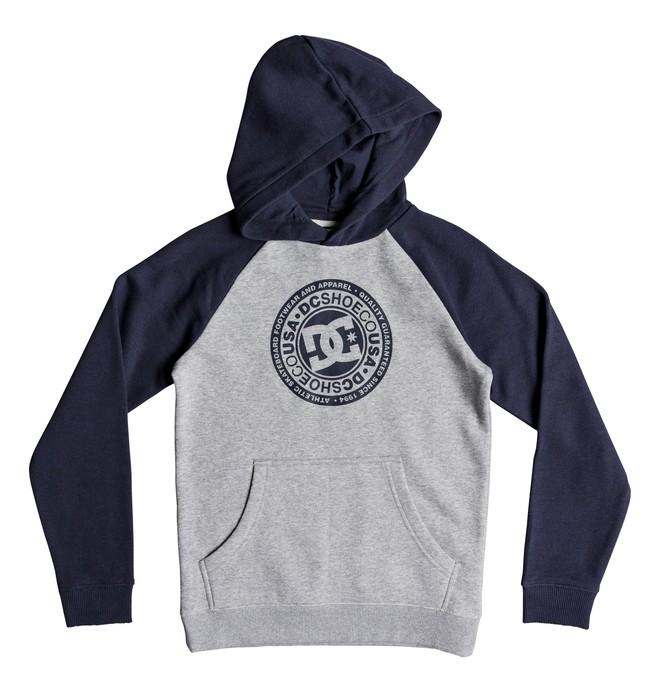 0 Boy's 8-16 Circle Star Hoodie Blue EDBSF03094 DC Shoes