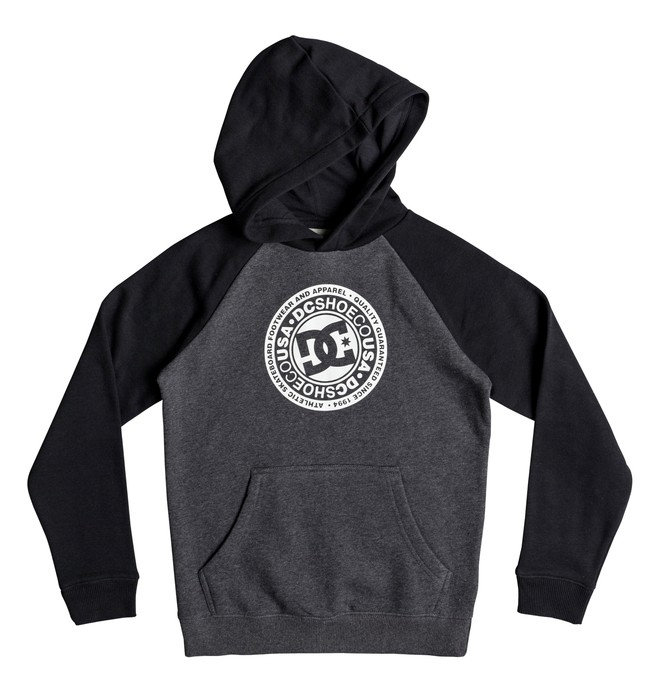 0 Boy's 8-16 Circle Star Hoodie Black EDBSF03094 DC Shoes