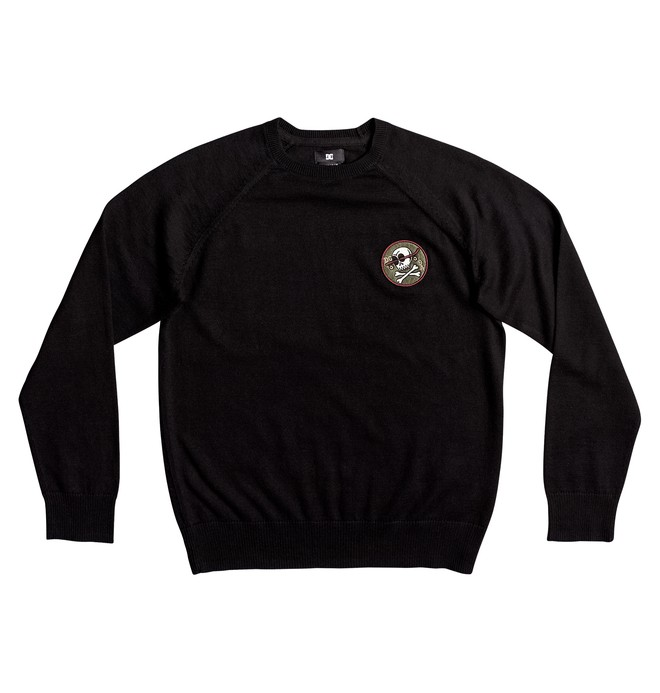 0 Sabotage Raglan - Sweatshirt for Boys 8-16 Black EDBSW03011 DC Shoes