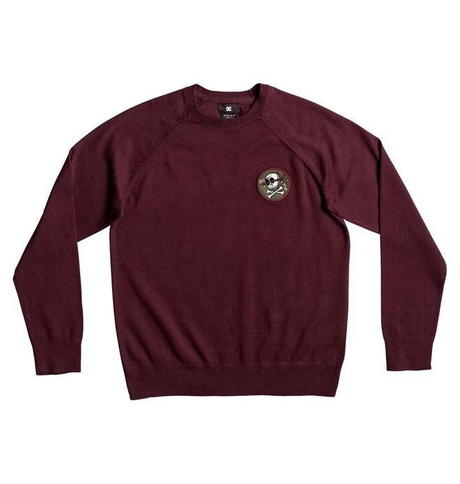 0 Sabotage Raglan - Sweatshirt für Jungen 8-16 Rot EDBSW03011 DC Shoes