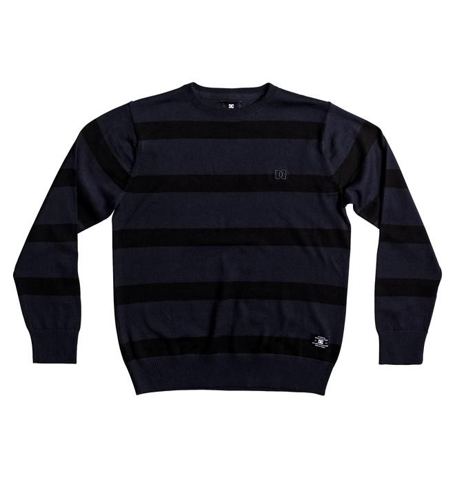 0 Kid's Sabotage Stripe Sweatshirt  EDBSW03012 DC Shoes