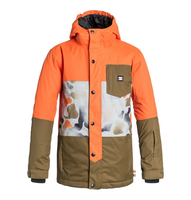 0 Boy's Defy Snow Jacket  EDBTJ03003 DC Shoes