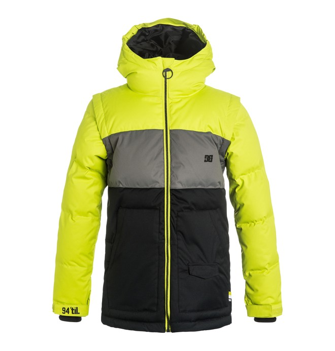 0 Downhill - Puffer Snow Jacket  EDBTJ03009 DC Shoes