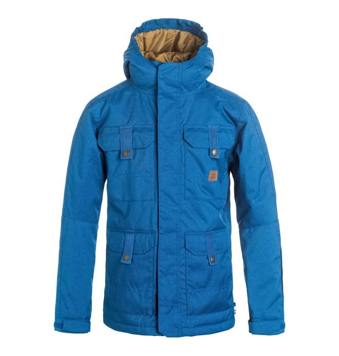 0 Boy's 8-16 Servo Snow Jacket  EDBTJ03014 DC Shoes
