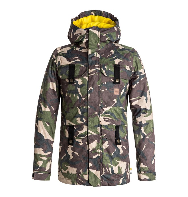 0 Boy's 8-16 Servo Snow Jacket  EDBTJ03017 DC Shoes
