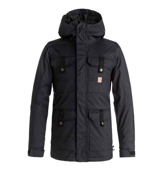 0 Servo - Veste de snow Noir EDBTJ03017 DC Shoes