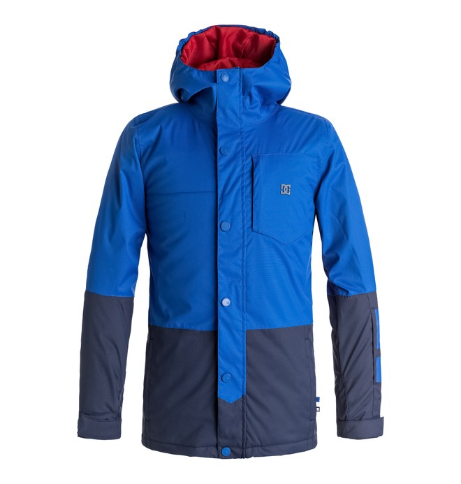 0 Boy's 8-16 Defy Snow Jacket  EDBTJ03018 DC Shoes