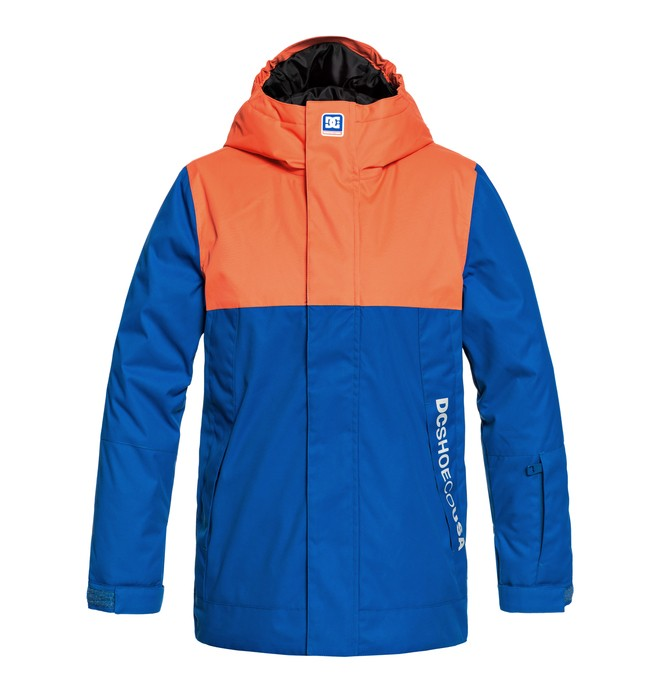 0 Boy's 8-16 Defy Snow Jacket Purple EDBTJ03022 DC Shoes
