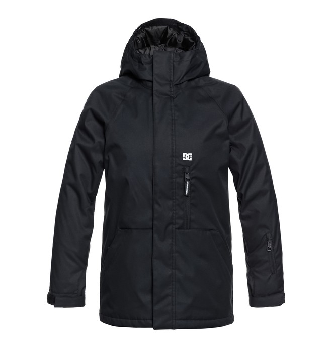 0 Boy's 8-16 Ripley Snow Jacket Black EDBTJ03024 DC Shoes