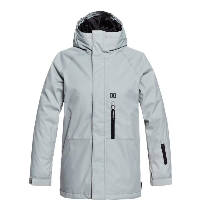 0 Boy's 8-16 Ripley Snow Jacket Grey EDBTJ03024 DC Shoes