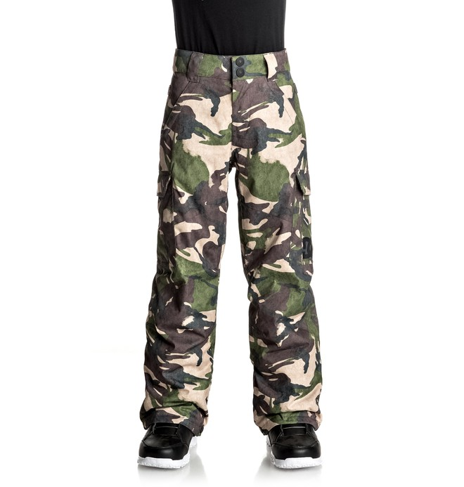 0 Banshee - Snow Pants Green EDBTP03006 DC Shoes