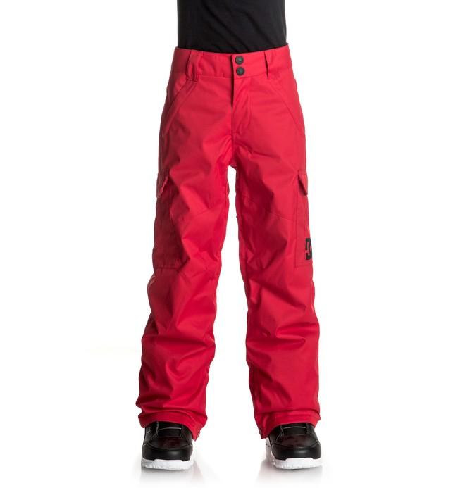 0 Banshee - Pantalon de snow Rouge EDBTP03006 DC Shoes