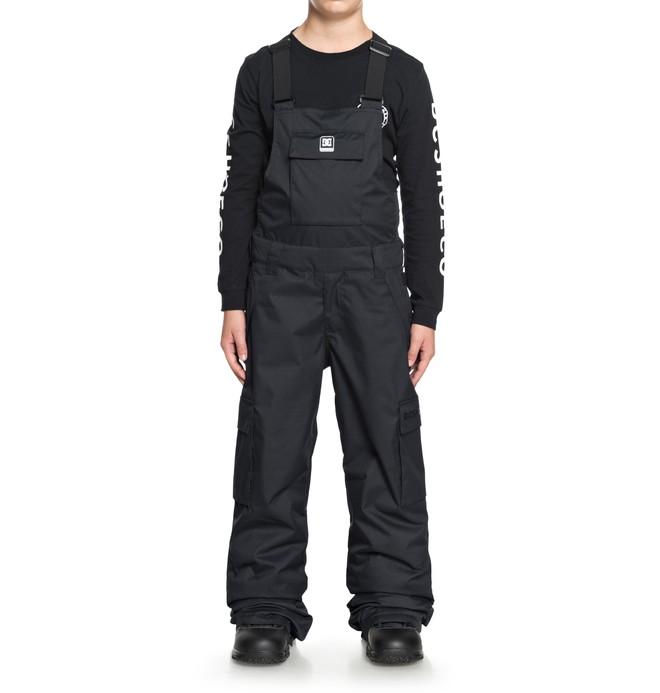 0 Boy's 8-16 Banshee Snow Bib Pants Black EDBTP03007 DC Shoes