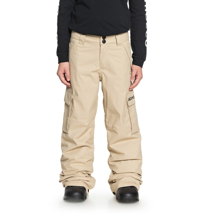 0 Banshee - Snow Pants for Boys 8-16 Brown EDBTP03009 DC Shoes